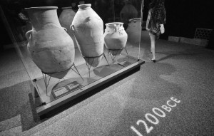 Urns from 1,200 BCE.