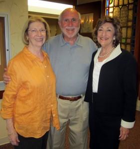 Ina and Moss Friedman and Marian Ticatch.