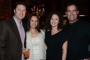 Adam and Dana Lotkin, Jen and Steve Sabatino