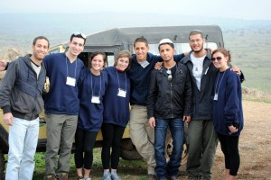 Birthright trips usually include Bonding with Israeli peers who travel with the group