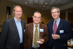 Randy DuVall, First Presbyterian Church of Virginia Beach, Sid Barrera, Philippine Cultural Center of Virginia, and Reverend Al Butzer, First Presbyterian Church.