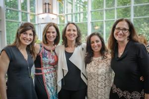 Renee Strelitz, Jodi Klebanoff, Guest Speaker Sally Oren, Shari Friedman and Deb Segaloff.