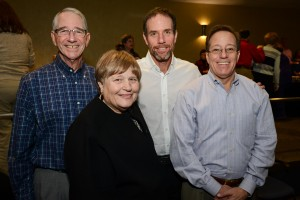 Alan, Brenda, John and Andy Stein.