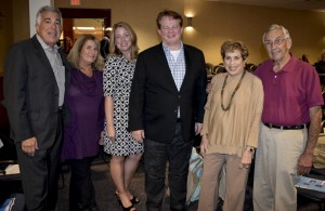 David and Bonnie Brand, Katharyn and Gordon Robertson, and Joyce Strelitz and Irv Hodes.