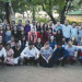 American and Indian groups before Shabbat