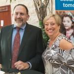 2-Ben Simon with Linda Spindel