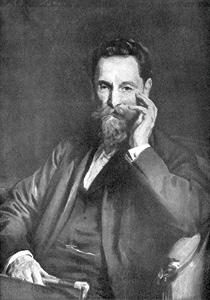 Portrait of United States publisher Joseph Pulitzer, 1918.