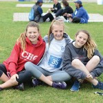 Teens at 2016 JFS Run, Roll or Stroll.