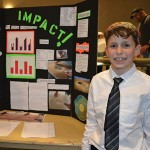 Ryan Bailey, HAT Science Fair second place winner.