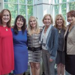Newly Installed Cabinet Chair Mona Flax with Vivian Turok, Ilana Benson, Annie Sandler, Charlene Cohen and Joan Joffe.