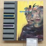 Art display of winner, Gavin Ventura, 1st place, Senior.