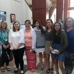 Susan Schutte, Ella Tessitore, Elise Tessitore, Chloe Schuck, Izzy Robinson, Caitlin Lindgren, and Amy Lindgren.