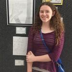 Lilia Myers, Junior art winner.