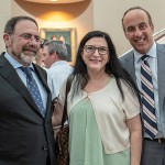 Ben Simon, Rabbi Roz Mandelberg, and John Strelitz.