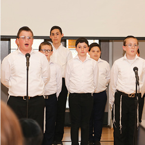 Toras Chaim boys' choir.