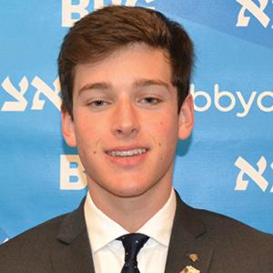 Noah Mendelson, Gizbor (AZA treasurer)