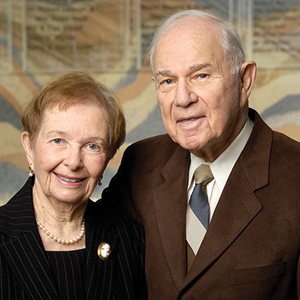 Alma and Howard Laderberg.