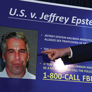 Stephanie Keith/Getty Images U.S. Attorney Geoffrey Berman announces charges against Jeffery Epstein in New York City, July 8, 2019.