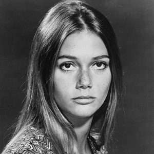 Publicity photo of Peggy Lipton from the television program The Mod Squad, c. 1971.