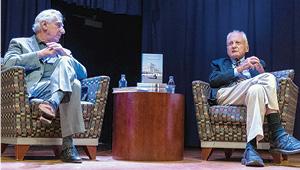 Art Sandler and Ambassador Alfred Moses.
