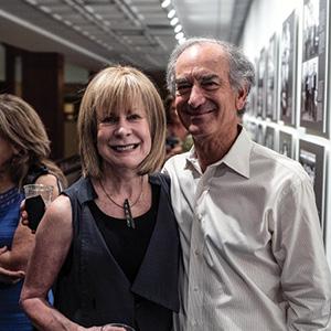 Leslie and Larry Siegel.