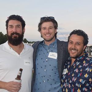 Jeff Werby, Steve Zuckerman and Eliot Weinstein.