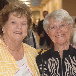 Frances Levy Birshstei and Sarita Sachs.