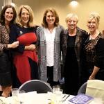 Jodi Klebanoff, UJFT Campaign chair, Susan Hirschbiel, Ellen Hundley, Linda Spindell, and Charlene Cohen.