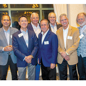 Jack Frieden, Mark Jacobson, Alan Lubel, Rick Lombart, Larry Rossen, Bruce Frieden, and Mark Robbins.