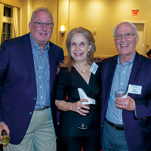 Mark Barr and Beverly and Alan Frieden.