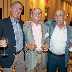 Robert Fink, Peter Brundage, and Richard Laibstain.