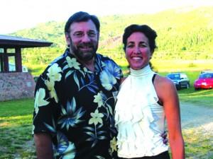 M Weinstein and Wife, Giselle Posada Weinstein