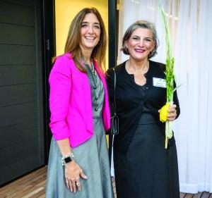 Eileen Filler-Corn and Rabbi Roz Mandelberg