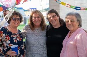 Hillary Wriggers, Ellen Hundley, Naomi Limor Sedek, and her mother, Susan Limor.
